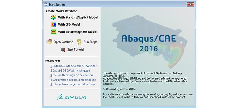نرم افزار آباکوس ABAQUS 2016 HF2 بهمراه فیلم آموزش نصب نرم افزار