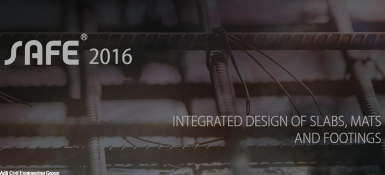 نسخه 2016 نرم افزار SAFE